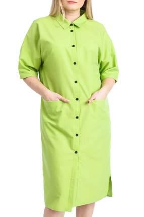 Платье женское LACY S19818(4304) зеленое 52 RU