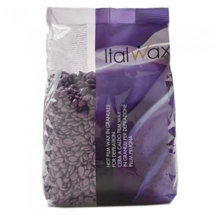 Воск для депиляции ItalWax Слива 1 кг