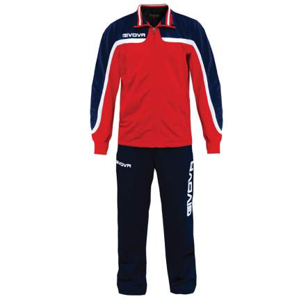 Спортивный костюм Givova Tuta Europa, red/blue, L INT