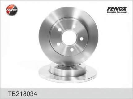 Тормозной диск FENOX TB218034