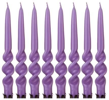 Набор свечей Adpal 348-635 Фиолетовый