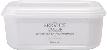 Осветлитель для волос Nook The Service Color White Bleaching Powder 500 г