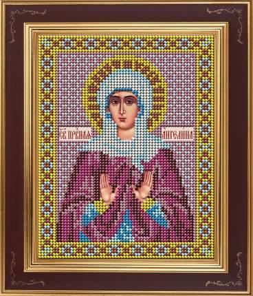 Вышивка бисером Galla Collection М276 Св.Ангелина Сербская 12х15 см