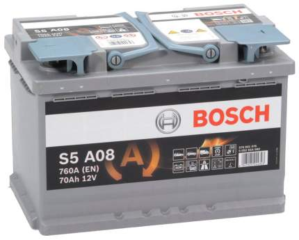 Аккумулятор автомобильный Bosch 0092S5A080
