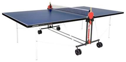Теннисный стол Donic Indoor Roller Fun синий, с сеткой