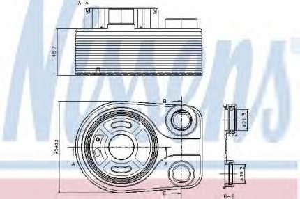 Радиатор Nissens 90705