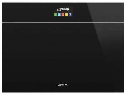 Встраиваемый электрический духовой шкаф Smeg SF4604PMCNX Silver/Black