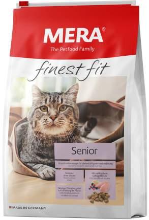 Сухой корм для кошек MERA Finest Fit Senior 8+, для пожилых, курица, 1,5кг