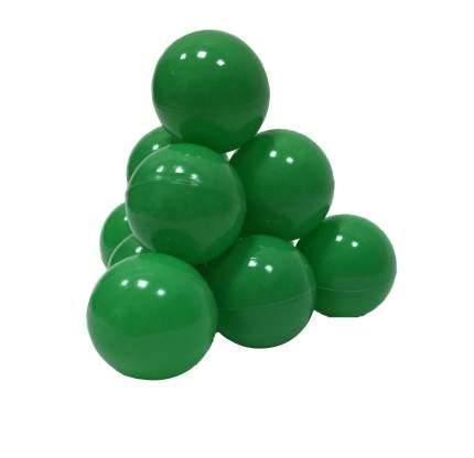 Шарики в наборе для игрового бассейна 50 шт, диам 7см, зеленые