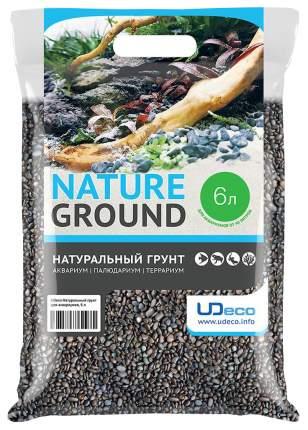 Грунт для аквариума UDeco River Dark 3-4 мм 6 л