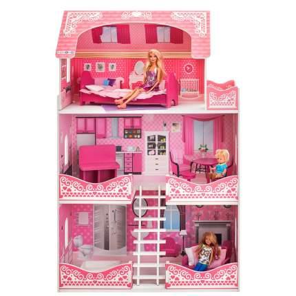 Кукольный домик Paremo розет шери с мебелью