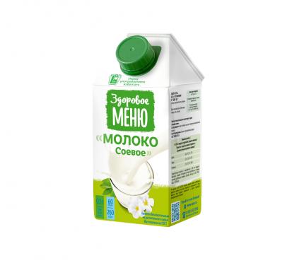 Молоко соевое Здоровое Меню 0.5 л