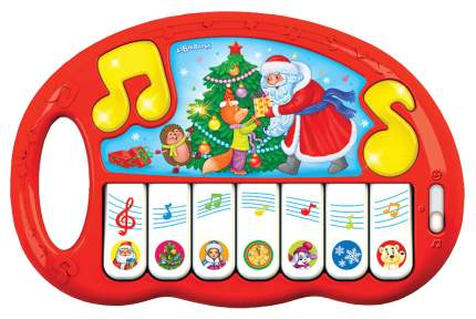Пианино игрушечное Азбука Новый год 28283-1