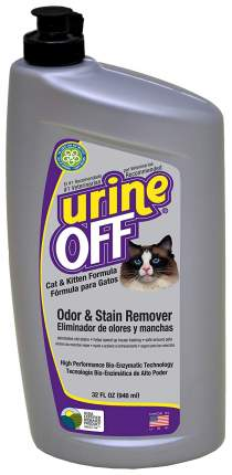 Нейтрализатор пятен и запаха Urine Off Odor and Stain Remover Cat & Kitten 946мл