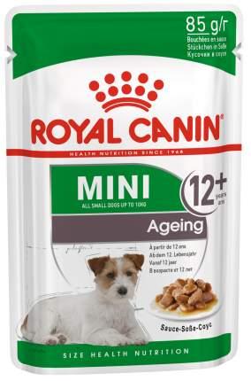 Влажный корм для собак ROYAL CANIN Mini Ageing 12+, для пожилых, мясо, 85г