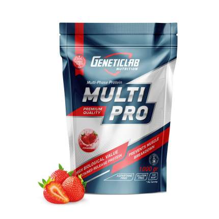 Протеин GeneticLab Nutrition Multi Pro 1000 г Strawberry