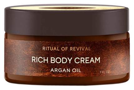 Крем для тела Zeitun Ritual Of Revival Rich Body Cream - Argan Oil 200 мл