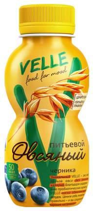 Продукт овсяный Velle питьевой ферментированный черника 250 г