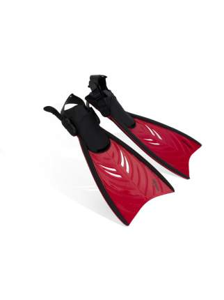 Ласты для плавания Submarine Flipper F42, размер 28-32, красные
