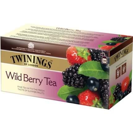 Чай черный Twinings лесные ягоды 25 пакетиков