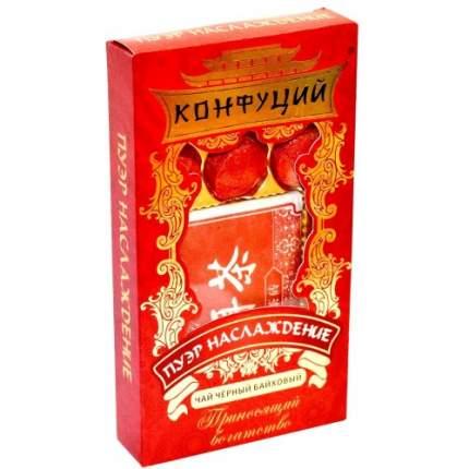 Чай черный в таблетках Конфуций pu-er наслаждение 70 г
