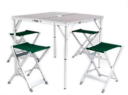Туристический стол со стульями Maverick HQ-046F коричневый