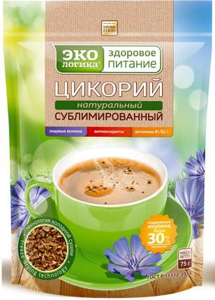 Цикорий экологика Московская кофейня на паяхъ растворимый сублимированный 75 г