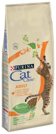 Сухой корм для кошек Cat Chow Adult, домашняя птица, 7кг