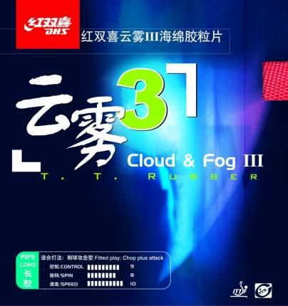 Накладка для ракетки DHS Cloud and Fog III черная 1.0