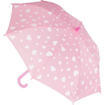 Зонт детский Котофей для девочки розовый