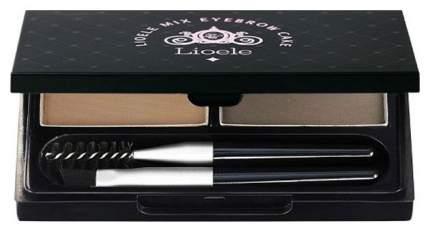 Тени для бровей Lioele Mix Eyebrow Cake 02 Dark Gray 2,5 г х 2 шт