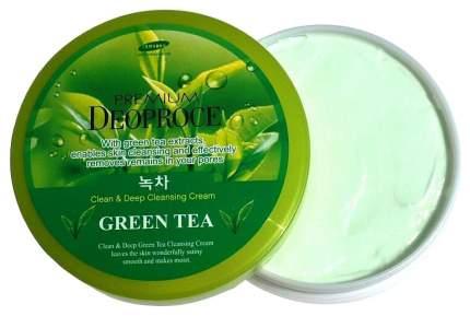 Крем для тела Deoproce Clean & Moisture Massage Cream Green Tea 300 г