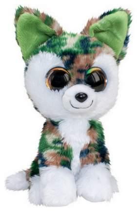 Мягкая игрушка ABtoys Волк Woody серо-зелёный, 15 см