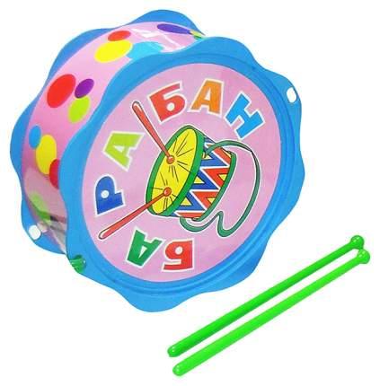 Барабан игрушечный ТулИгрушка Малышок С2-4