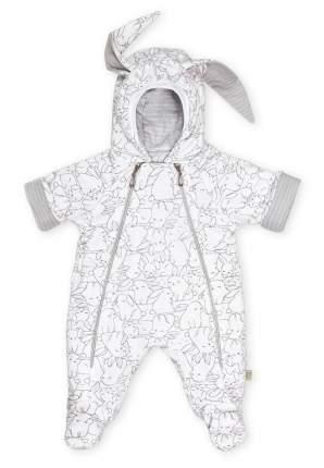 Комбинезон детский Сонный гномик с капюшоном МоЗайка р.62