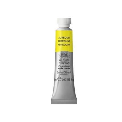 Акварель Winsor&Newton Professional ауреолин желто-золотой 5 мл