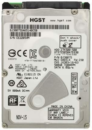 Внутренний жесткий диск HGST Travelstar Z7K500 500GB (HTS725050A7E630)