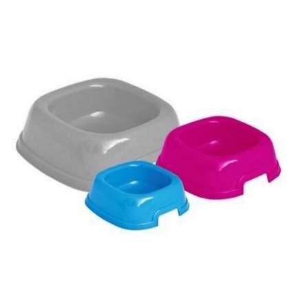Набор мисок для кошек и собак Georplast, пластик, серый, красный, голубой, 1.53 л