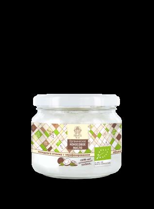 Органическое кокосовое масло Organica for all холодного отжима нерафинированное эко 250 мл