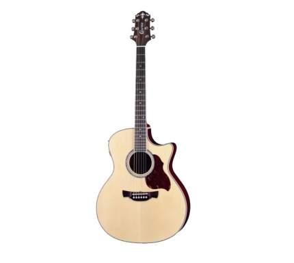 Электроакустическая гитара шестиструнная CRAFTER GAE-8 N  Чехол