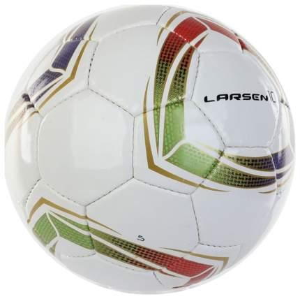 Футбольный мяч Larsen 10 белый
