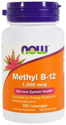 Витамин B NOW Methyl B-12 1000 мкг 100 пастилок