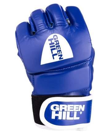 Перчатки для MMA Green Hill Combat Sambo MMR-0027CS, к/з, синие (XL)