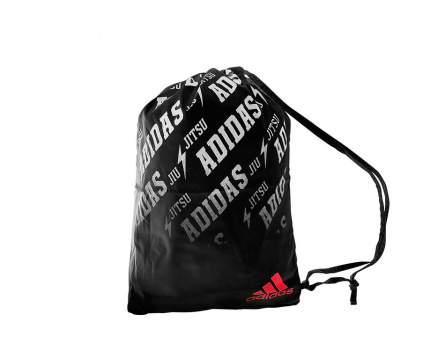 Спортивная сумка Adidas Satin Carry Bag Jiu Jitsu черная/красная