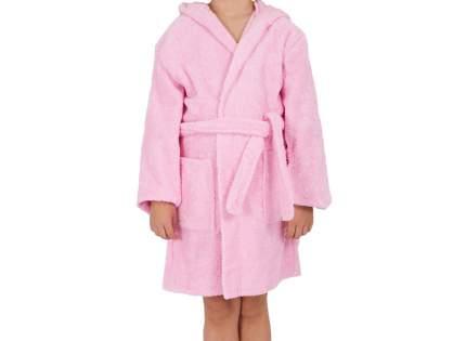 """Детский махровый халат с капюшоном, розовый, р. 34 """"ЭГО"""""""
