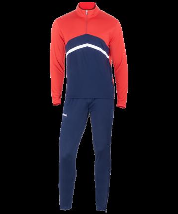 Комплект спортивной формы Jogel JPS-4301-921, темно-синий/красный/белый, M INT