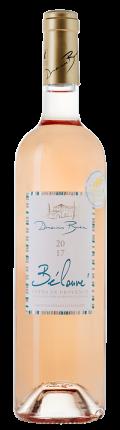 Вино Belouve Rose, Domaines Bunan, 2018 г.