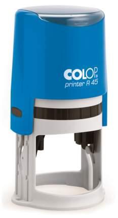 Оснастка для печати Colop Printer R45 Cover. Цвет корпуса: синий.