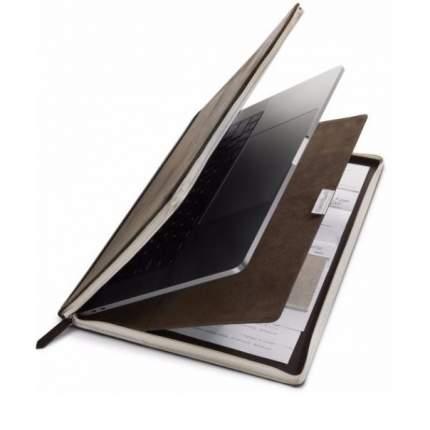 """Чехол для ноутбука 13"""" Twelve South Book Vol 2 Brown"""
