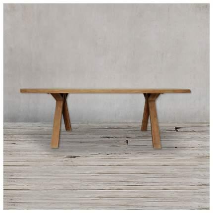 Кухонный стол ROOMERS 76х200х100 см, коричневый